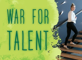 CBRE Healthy Offices Research - War for Talent - Groen verfpatroon
