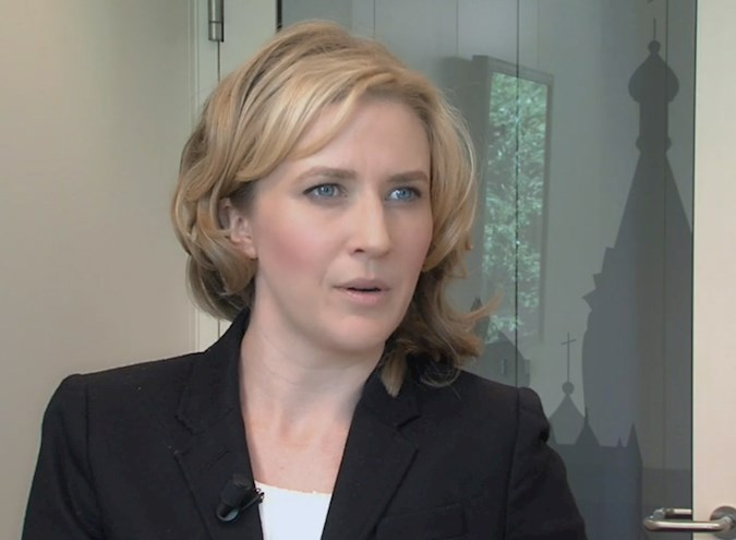 CBRE Healthy Offices Research - video still - Interview Elizabeth Nelson