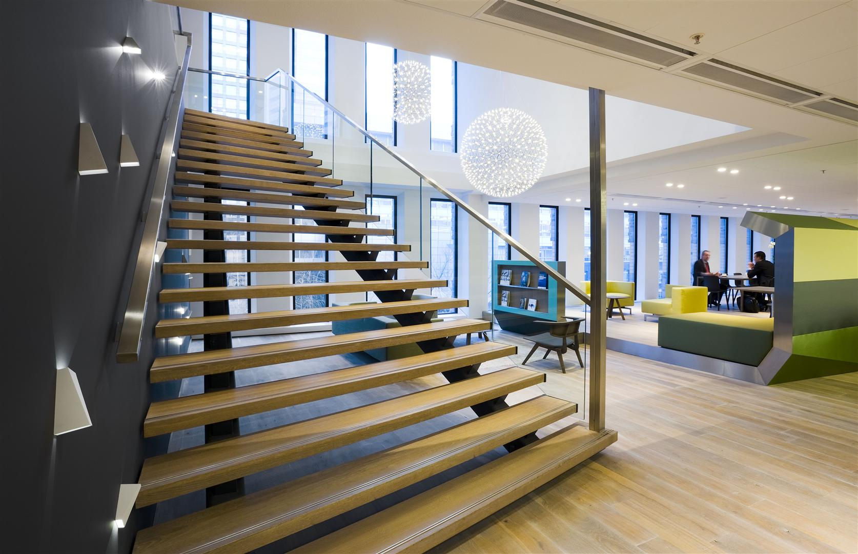 CBRE - Case Study - CBRE HQ The Netherlands - Symphony Offices, Zuidas, Amsterdam - Interior 01