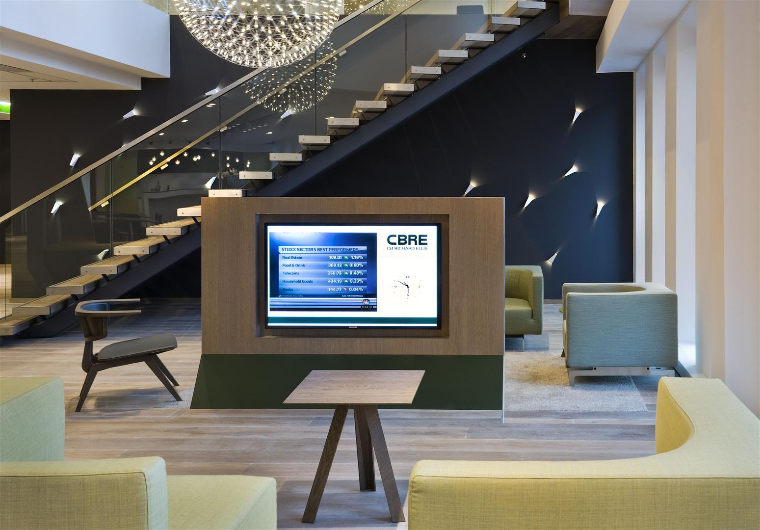 CBRE - Case Study - CBRE HQ The Netherlands - Symphony Offices, Zuidas, Amsterdam - Interior 05