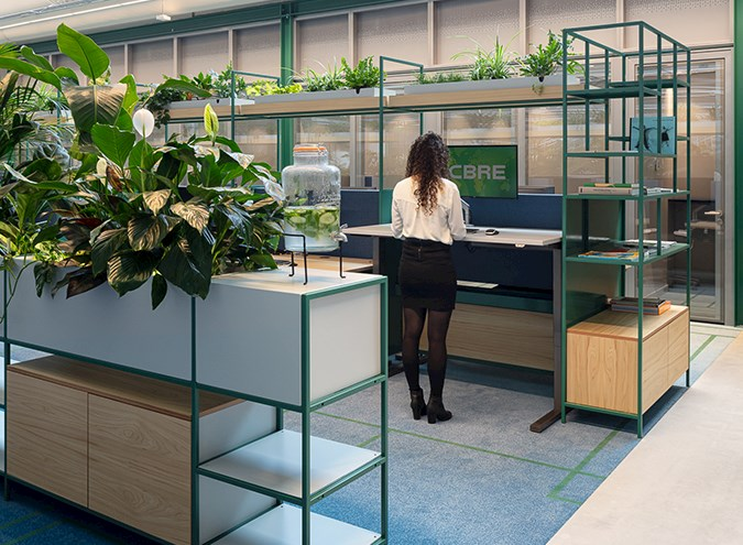 More focus on smart and healthy workspaces