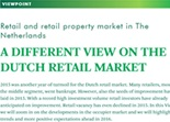 Printscreen CBRE ViewPoint Retail January 2016 - A different view on the Dutch retail market